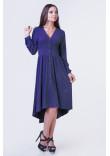 Сукня «Легкість» синього кольору