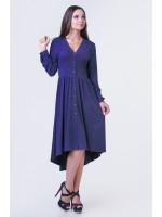 Платье «Легкость» синего цвета
