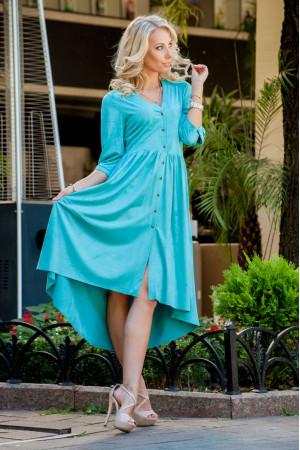 Сукня «Подих вітру» бірюза