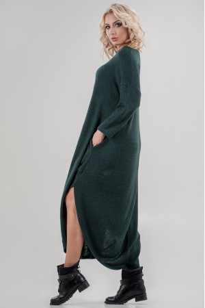 Сукня «Фіа» темно-зеленого кольору