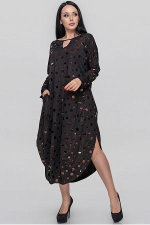 Платье «Николь» черного цвета