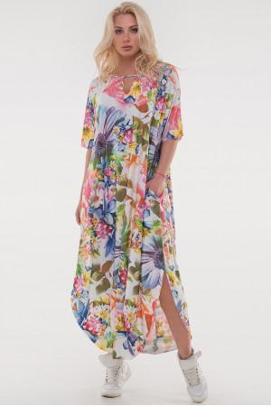 Платье «Николь-лето» розовый тон