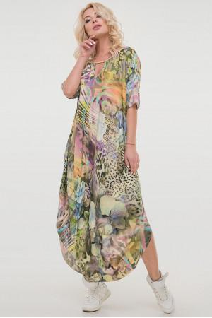 Сукня «Ніколь-літо» зелений тон