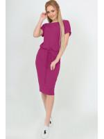 Платье «Карен» малинового цвета