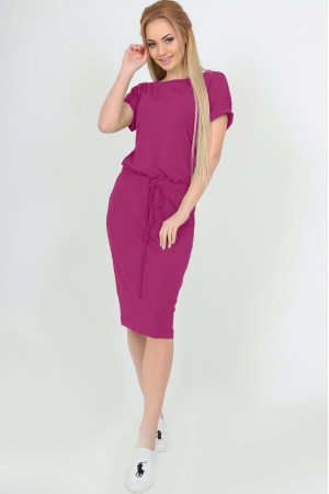 Сукня «Карен» малинового кольору