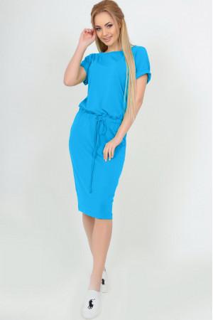 Платье «Карен» бирюзового цвета