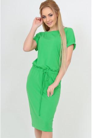 Платье «Карен» зеленого цвета