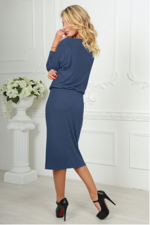 Сукня «Мойра» темно-сірого кольору