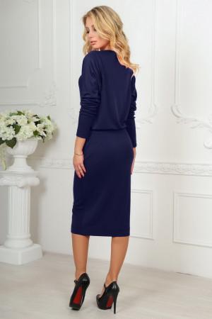 Сукня «Мойра» темно-синього кольору