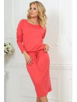 Платье «Мойра» кораллового цвета