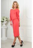 Сукня «Мойра» коралового кольору