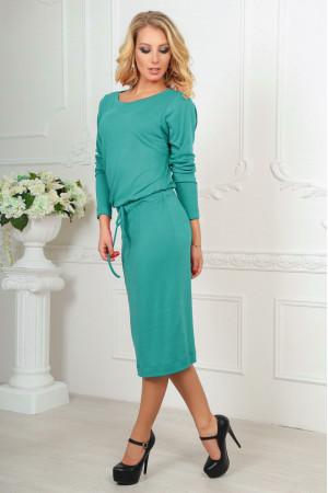 Платье «Мойра» мятного цвета