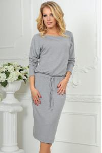 Сукня «Мойра» сірого кольору