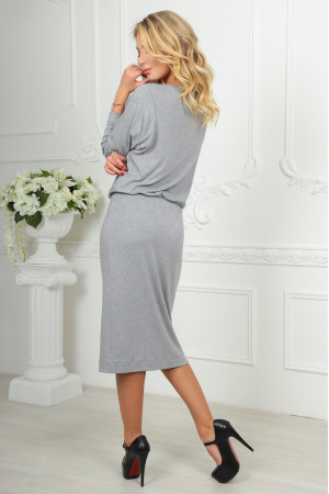 Платье «Мойра» серого цвета