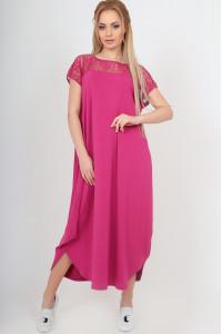 Платье «Брая» малинового цвета
