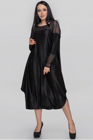 Платье «Брая» антрацитового цвета