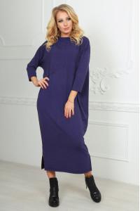 Платье  «Двина» фиолетового цвета
