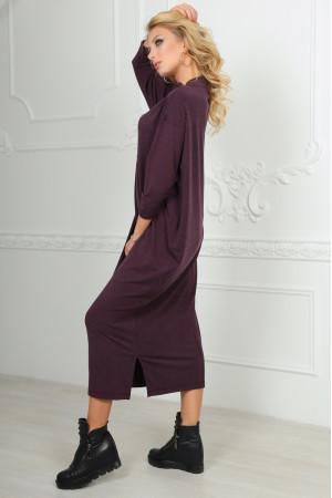 Сукня «Двіна» бордового кольору