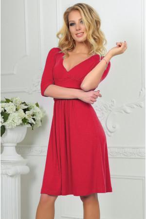 Платье «Мечтательность» розового цвета