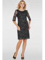 Платье «Марго» черного цвета