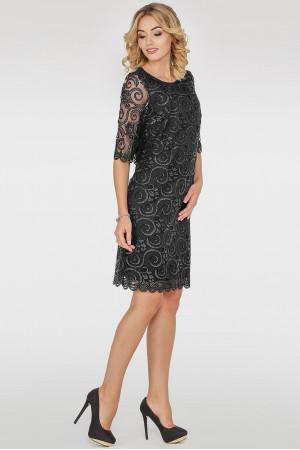 Сукня «Марго» чорного кольору