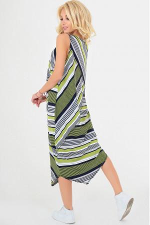 Сукня «Ільсей» оливкового кольору