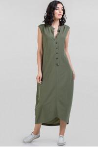 Сукня «Регіна» кольору хакі