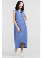 Платье «Ола» голубого цвета