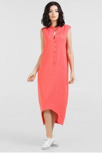 Сукня «Ола» коралового кольору