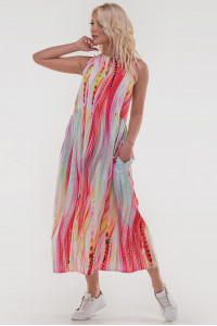 Платье «Беата» розовый тон