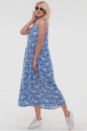Сукня «Беата» кольору джинс