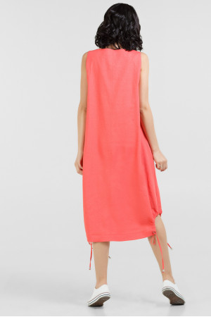 Платье «Зиби» кораллового цвета