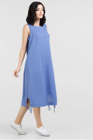 Платье «Зиби» голубого цвета