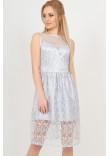 Сукня «Стейсі» сріблястого кольору