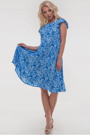 Платье «Лилас» голубого цвета