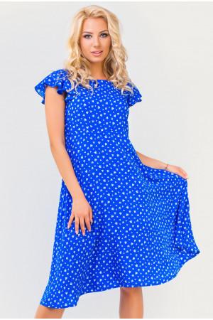 Платье «Джун» цвета электрик