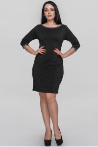 Платье «Ранье» черного цвета