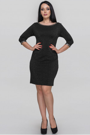 Сукня «Раньє» чорного кольору