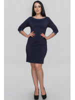 Платье «Ранье» синего цвета