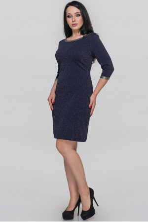 Сукня «Раньє» синього кольору