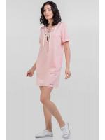 Платье «Алика» цвета пудры
