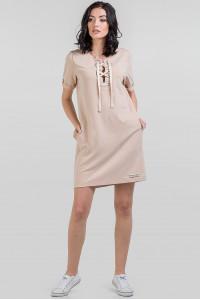 Сукня «Аліка» бежевого кольору