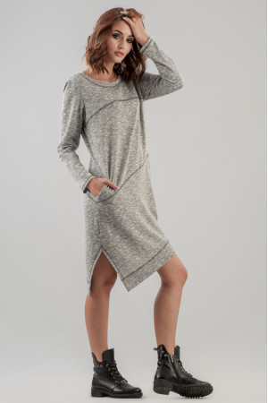 Сукня «Клінт» сірого кольору