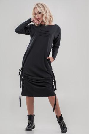 Сукня «Вілен» чорного кольору