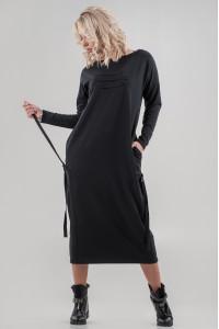 Платье «Вилен» черного цвета
