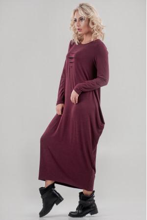 Сукня «Англесс» бордового кольору