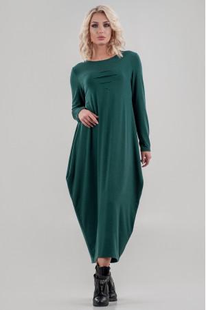 Платье «Англесс» зеленого цвета