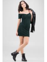 Платье «Корди» темно-зеленого цвета