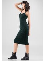 Платье «Клара» темно-зеленого цвета