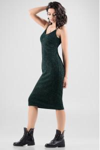 Сукня «Клара» темно-зеленого кольору